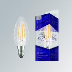 Лампа светодиодная Brizzi C35 4W 2700K E14 twisted