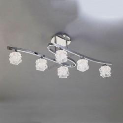 Люстра потолочная Mantra 1842 ICE