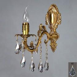 Бра Ambiente Granada 2118/1 AB Leaf crystal